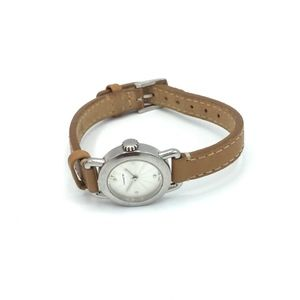 Authentic COACH Tan Slim Band Watch